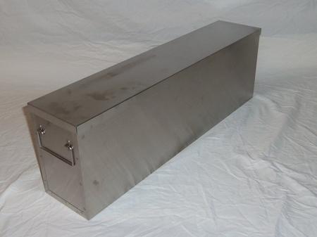 Upright Freezer Rack 22 Quot Deep Ss Storage Box