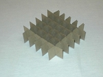 Cardboard Cell Divider D-36 | 6 x 6 for 2