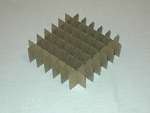 Cardboard Cell Divider D-49 | 7 x 7 for 2