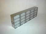 Upright Freezer Rack MF-20 for 80 Plate Storage