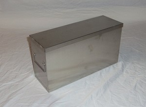 "Upright Freezer Rack 16.31"" Deep SS Storage Box"