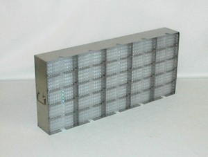 Upright Freezer Rack MF-25 for 100 Plate Storage