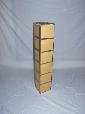 Chest Freezer Rack RV-6-5 for 6/ 5in Tube Boxes for 15ml & 50ml Tubes